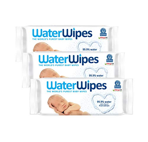 DERMAH2O DermaH20 salviettine umide purissime per bambini,60 pezzi,3 confezioni