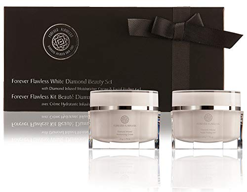 Forever Flawless Facial Peeling Gel and Moisturizing Cream. Two-Step Face Treatment. SPA Exfoliation at Home and Optimal Hydration for a Flawless Look!