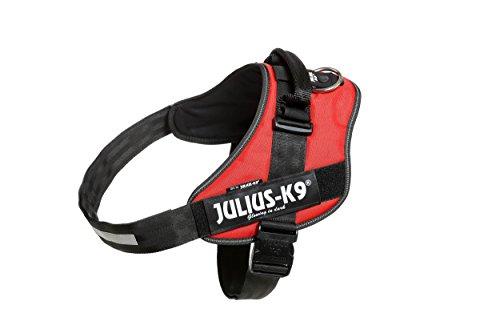 Julius-K9, 16IDC-R-3, IDC Powerharness, dog harness, Size: 3, Red