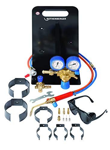 Rothenberger Industrial - Roxy Universal - Autogenschweißgerät / Hartlötgerät - Grundgerät ohne Gas und Sauerstoffbehälter - 35050