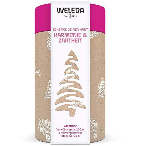 Weleda Wildrose - Geschenkset Dusche + Pflegeöl