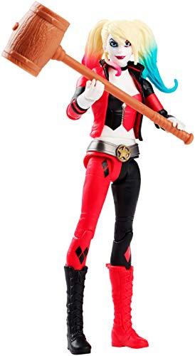 Justice League- Figura Básica 15Cm, Harley Quinn, Multicolor (Mattel FVM83) , color/modelo surtido