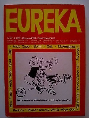 Eureka n. 27 1970 (Andy Capp/Maxmagnus) Ed.Corno FU05