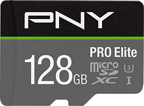 PNY 128GB PRO Elite Class 10 U3 microSDXC Flash Memory Card