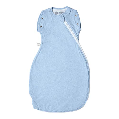 Tommee Tippee The Original Grobag Gigoteuse d'emmaillotage x1 - 0-4m tog 1.0 - Blue Marl - 59cm