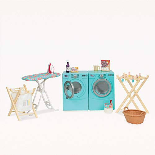 Our Generation by Battat- Tumble & Spin Laundry Set for 18 Dolls- Toys, Clothes & Accessories for Girls 3-Year-Old