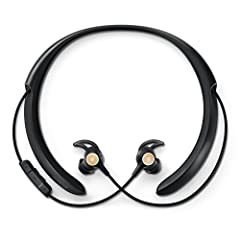 Wireless conversation enhancing headphones help you hear in louder environments by bringing into focus the voices you want to hear and reducing the noises you don't Always on active noise reduction Quiets your surroundings, while directional micropho...