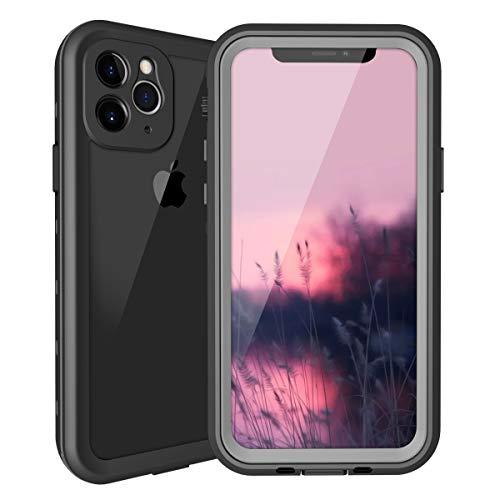 iphone 11 Pro Max防水ケース iphone 11 Pro Maxカバー IP68規格 超強防水力 Qi充電対応 フェイスID 指紋認...