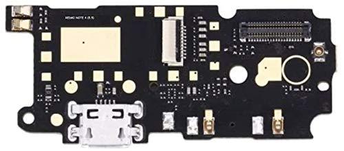 Flex Flat Dock USB Módulo base conector de carga Dock carga micrófono compatible para Xiaomi Redmi Note 4