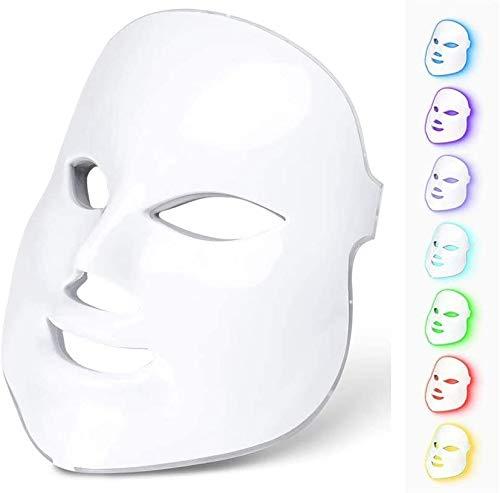 LIARTY Maschera per la terapia della luce migliorata, 7...