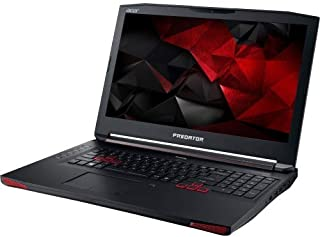 Acer Predator G5-793-79SG Gaming Laptop - Intel Core i7-7700HQ, 2.8GHz, 17.3 Inch, 1 TB, 16 GB, NVIDIA GTX1060 6 GB VGA, English Keyboard, Windows 10, Black