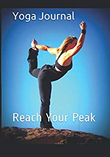 Yoga Journal: Yoga practice and class notebook and diary - log your achievements and plan your next steps to make progress and reach your goals. (108 pages,53 weeks, un-dated 7