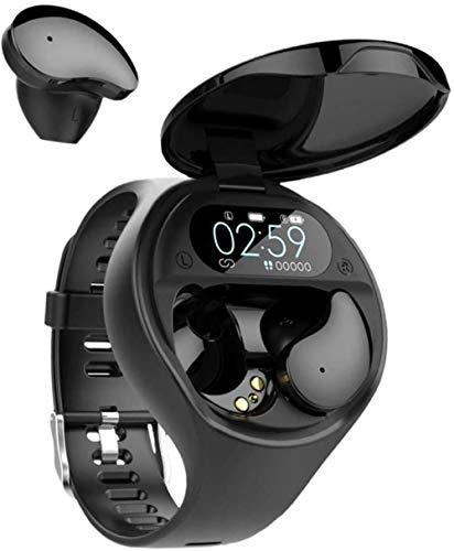 Reloj Inteligente Bluetooth 5.0 Auricular TWS Combinación Impermeable Pulsera Desmontable Frecuencia Cardíaca Pantalla Color Contador De Paso Y Llamada Recordatorio Pulsera