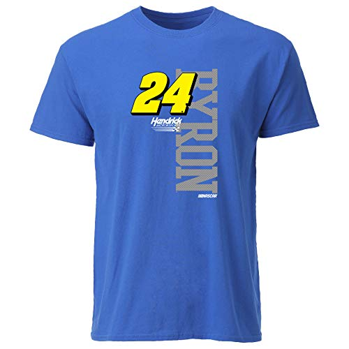 Ouray Sportswear NASCAR Ouray S/S Tee William Byron, Royal/Vertical, Small