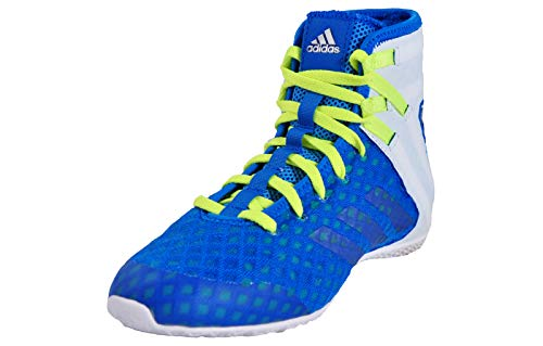 Adidas Botas de boxeo Speedex 16.1 - Shock azul, Azul, UK 5.5...