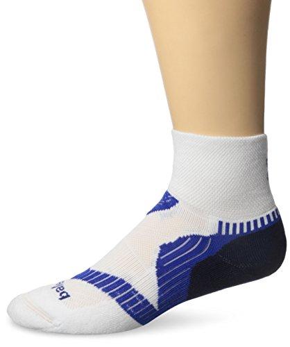 Balega Enduro V-Tech Quarter Socken für Damen und Herren Medium Weiß/Tinte/Kobalt