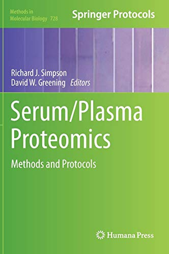 Serum/Plasma Proteomics: Methods and Protocols: 728