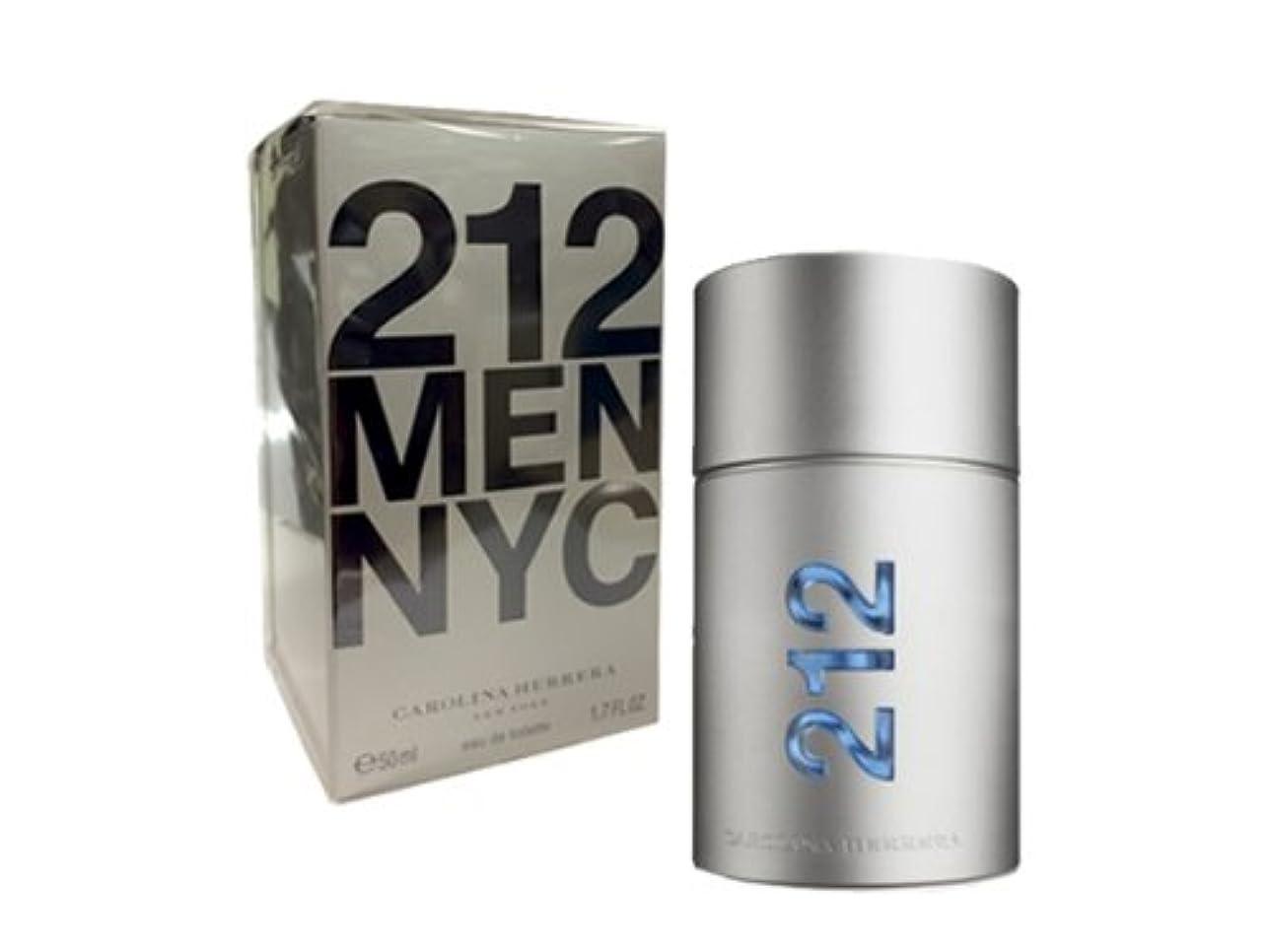 奴隷歌アイスクリームキャロライナヘレラ 212メン 50ml メンズ 香水 212MEDT50 CAROLINA HERRERA (並行輸入品)