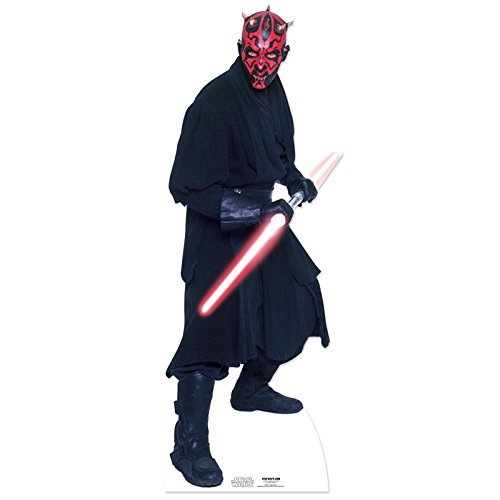 Star Cutouts - decoración Darth Maul Star Wars (SC516)  [Importado de...