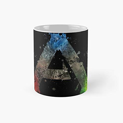 Ark Survival Evolved Splatter Classic Mug Best Gift Funny Coffee Mugs 11 Oz