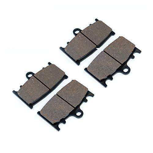 TONGDAUR Bremsbeläge for K-a-w-a-s-a - k-i Versys 1000 LT ABS KLE1000 KLZ1000 2012-2018 Front Rear Bremsbeläge Set (Color : 2X Front Brake Pads, Size : Kostenlos)