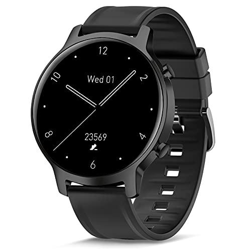 Smartwatch, Reloj Inteligente para Mujer Hombre, Relojes Deportivos de Impermeable IP68 con Pulsometro, Monitor de Sueño, Podómetro, Fitness Activity Tracker para Android iOS ⭐