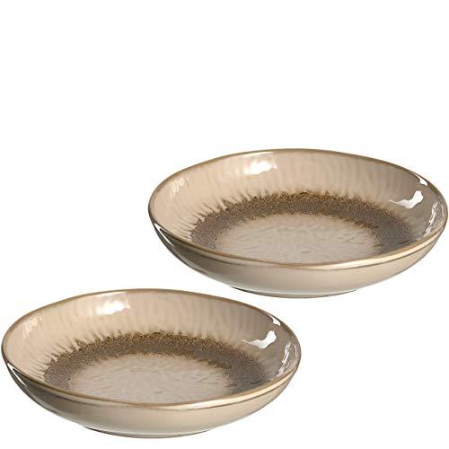 Leonardo 026982 Matera - Juego de 2 platos hondos de cerámica, aptos...