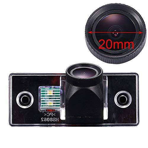 HDMEU Caméra de recul étanche CCD couleur HD pour voiture, angle de vision de 170 °, pour VW Volkswagen Golf Variant MK4 MK5/Tiguan/Touareg/Polo