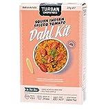 Turban Palillos Dahl Tomate Especiado Kit 275g - Tomate Dhal mezcla lentejas rojas con especias - chiles, ajo, pimienta negra, hojas de laurel y más