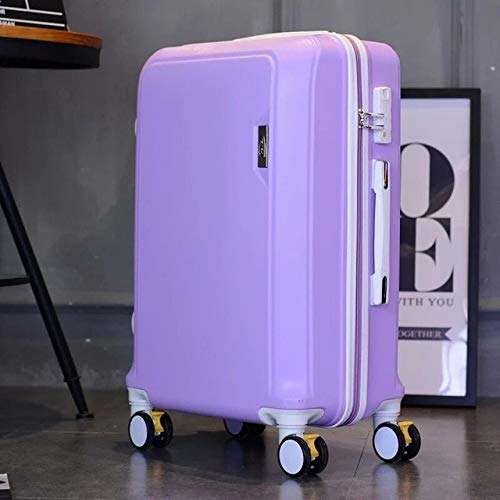 Mdsfe Men Rolling Luggage Boarding box Women large capaticy travel luggage bag Spinner brand Trolley Suitcases on wheels, 20'