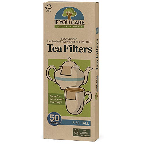 If You Care Fsc Certified Unbleached Tea Filters, 50 Count (Pack of 20)