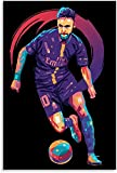 Poster Und Gedruckte Offizielle Suarez-Fußballaktion für