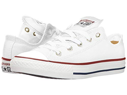 Converse Unisex Chuck Taylor All Star Ox Low Top Classic Optical-White. Sneakers - 9 Women / 7 Men