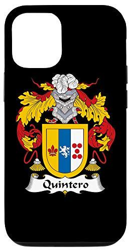 iPhone 12/12 Pro Quintero Coat of Arms - Family Crest Case