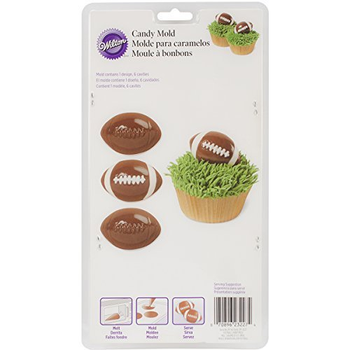 Wilton 2115-0227 Football Candy Mold by Wilton Industries