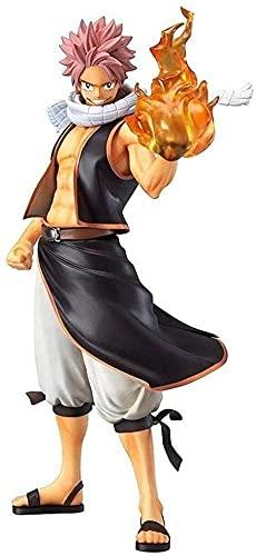 Fairy Tail 2 Etherious • Natsu • Dragneel modèle de statuette Décorations de statuette de personnage jouet Figurines en Forme de Personnages de Anime Collection Modèle Jouets Cadeaux