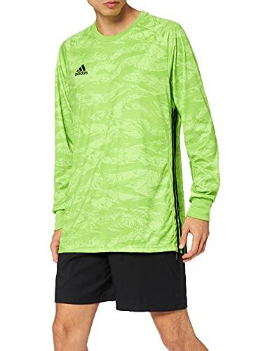adidas Herren AdiPro 18 Goalkeeper Jersey Longsleeve Torwarttrikot, semi solar Green, 2XL