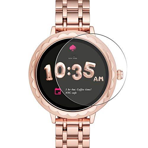 Vaxson 3 Unidades Protector de Pantalla, compatible con Kate Spade New York Scallop 42mm Smartwatch Hybrid Watch [No Vidrio Templado] TPU Película Protectora Reloj Inteligente Film Guard Nueva Versión