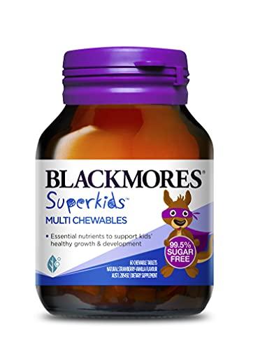 Blackmores Superkids Multi Chewables (60) Natural Strawberry-Vanilla Flavour