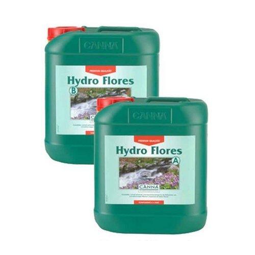 Fertilizzante per la Coltivo di Canna Hydro Flores Acqua Dolce A+B (2x5L)