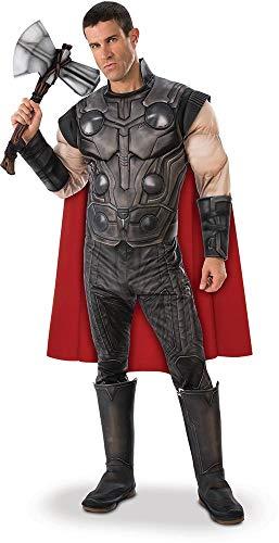 Rubies - Disfraz Oficial de Los Vengadores Endgame Thor, para Hombre Adulto
