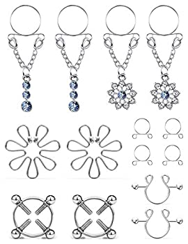 nipple jewelry non piercing