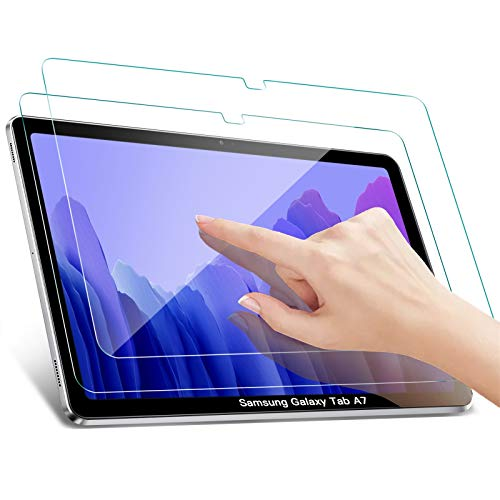 Benazcap [2 Pack] Protector Pantalla para Samsung Galaxy Tab A7, Fácil Instalación/Anti-Scratch/Dureza 9H Protector de Pantalla para Samsung Galaxy Tab A7 10.4 Pulgadas 2020