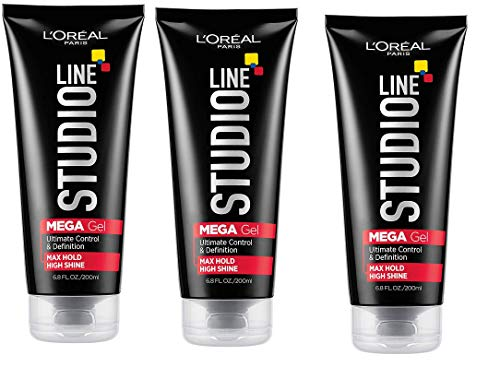 L'Oreal Paris Studio Line Mega Hair Gel, 6.8 Fluid...
