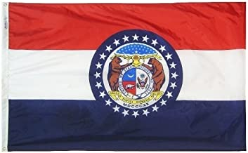 product image for All Star Flags 5x8' Missouri Nylon State Flag - All Weather, Durable, Outdoor Nylon Flag