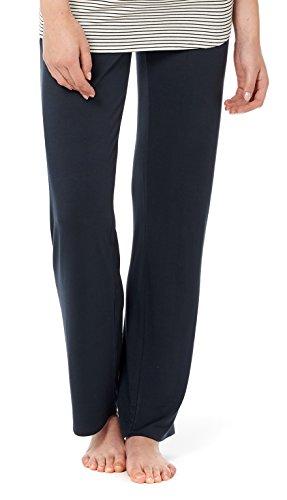 Noppies Umstands-Loungehose Pyjama Hose Damen Umstandsmode Nachtwäsche 20555 20550 20565 (S, C165 - Dark Blue)
