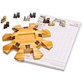 Yellow Mountain Imports Mexican Train Dominoes Accessory Set...
