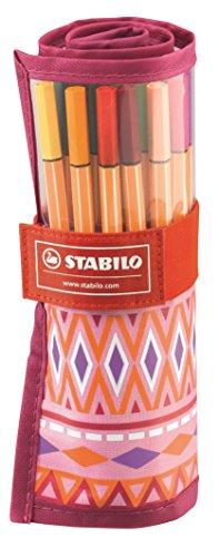 STABILO point 88 FESTIVAL SPIRIT rollerset 25 assorted colours - Fineliner