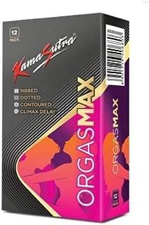 Kama Sutra Orgasmax 12S - 4 in 1 Condoms
