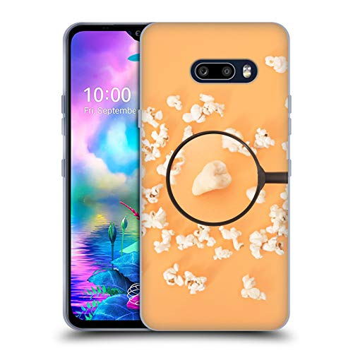 Head Case Designs Officially Licensed Pepino De Mar Popcorn Foodie Soft Gel Case Compatible with LG V50S ThinQ 5G